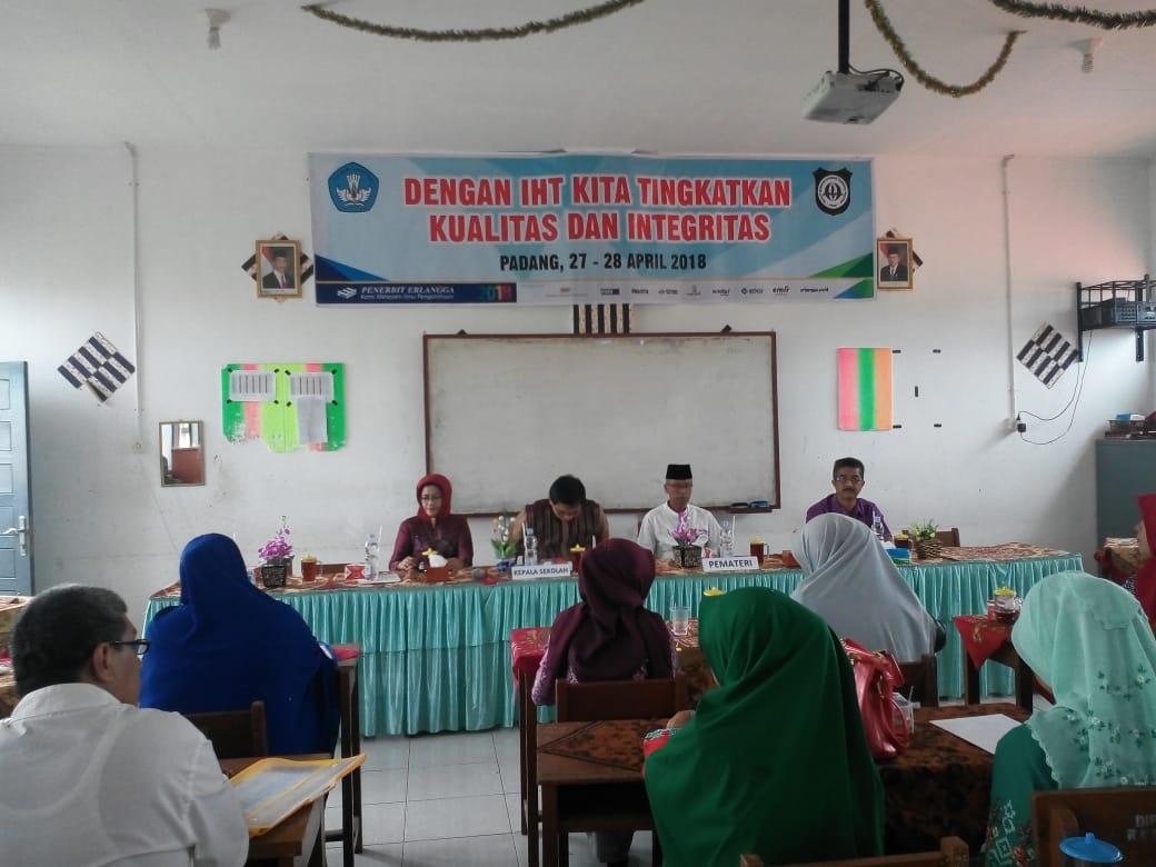 Kegiatan IHT 2018 SMK Nusatama Padang